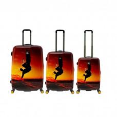 Juego de maletas Skysurf National Geographic  50-60-70