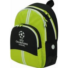 Mochila Champions League Green Reforzada (escolar)
