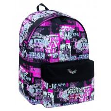 Mochila Printing Pink No Fear  (escolar - juvenil)