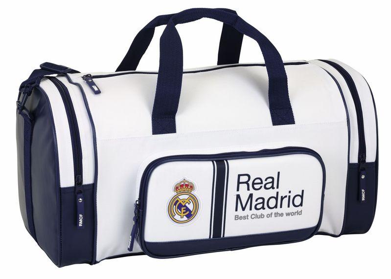 Bolsa de deporte y toalla de ba/ño de f/útbol rainbowFUN.de Real Madrid 1902
