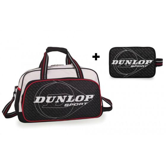 Conjunto bolsa deporte más neceser Dunlop