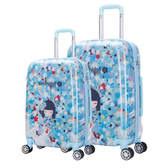 Conjunto de maletas Kimmidoll, cabina y mediana, colección Hikari