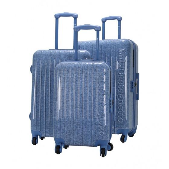 Juego de maletas Jazz azul