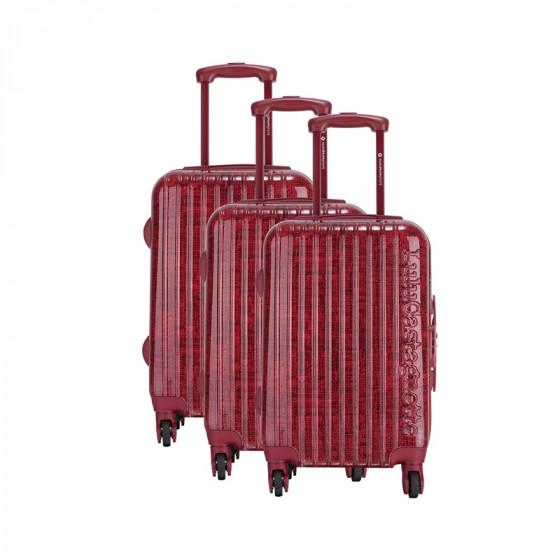 Juego de maletas Jazz Rojo