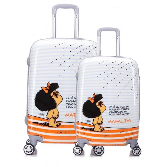 Juego maletas Mafalda, colección Tarifa