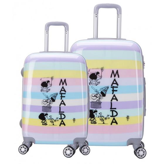 Juego de maletas Mafalda, colección Zahara
