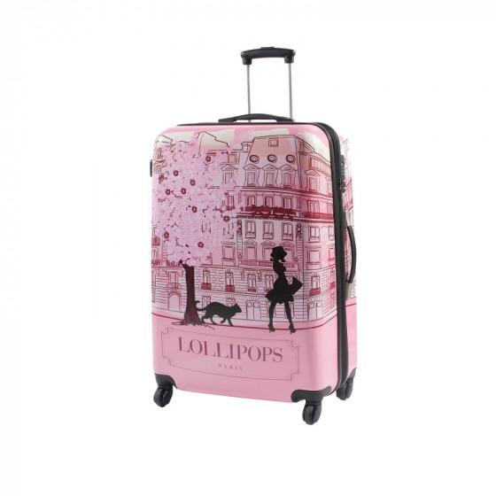 Maleta Lollipop Ronmiel mediana rosa