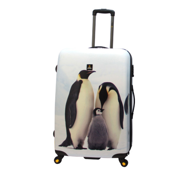 Maleta grande Pingu National Geographic Pinguino
