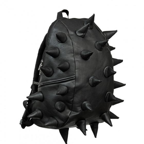mochila pinchos negra grande