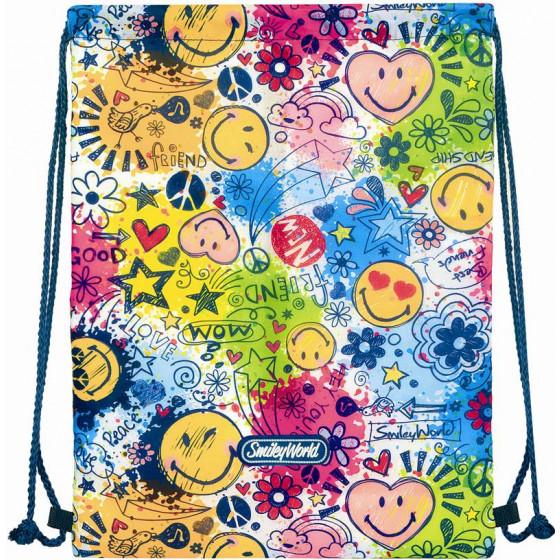 Saco mochila Smiley  Spring