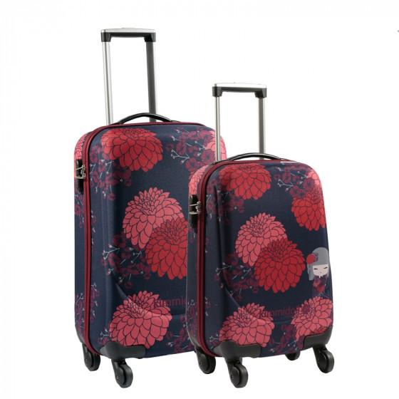 Conjunto maletas Kimmidoll Tomona, colección 2017
