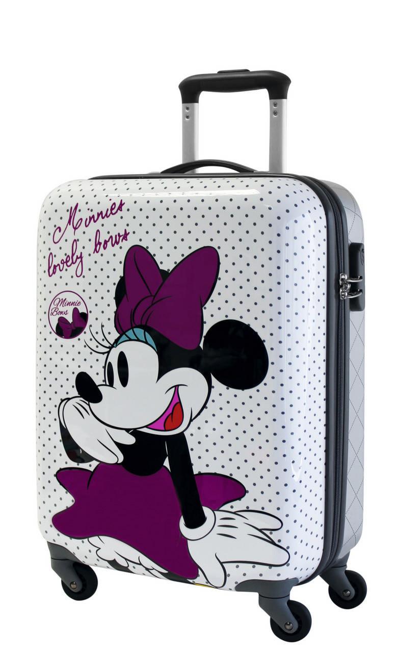 maleta minnie bows cabina 50 On maletas de viaje infantiles