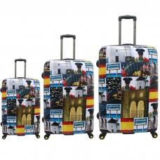 Juego de maletas España National Geographic 50-60-70