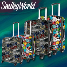 Maleta Smiley World Life (Mediana) 60