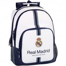 Mochila Real Madrid Doble Cuerpo (escolar-juvenil)