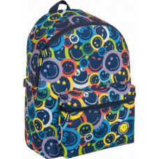 Mochila Smiley Color Teen (escolar - juvenil)