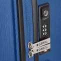 Bloom azul cabina Gabol cierre TSA