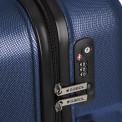 Custom azul cierre TSA